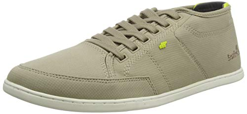 Boxfresh Herren Sparko Sneaker, Silber (Silver Mink 728), 43 EU