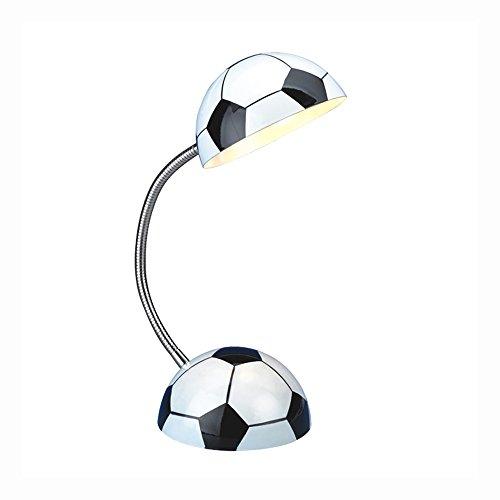 Pointhx Cartoon Fußball Metall Schreibtischlampe Modernen Minimalistischen Einstellbar E14 1-Light Tischlampe für Kinderzimmer Kindergarten Schlafzimmer Rest Wohnzimmer