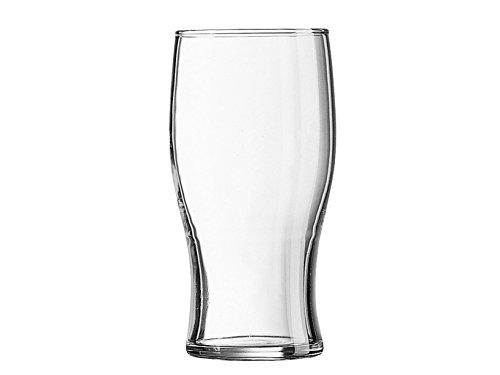 ARC Tulip Bicchiere da Birra in Vetro, Pinta Irlandese, 58 cl, Set da 6 Pezzi