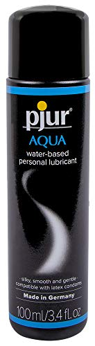 Pjur Aqua Premium Water-Based Personal Lubricant 3.4 Fluid Ounce / 100 Milliliter