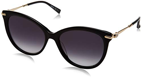 Max Mara Mm Shine II, Occhiali da Sole Donna, Black, 56