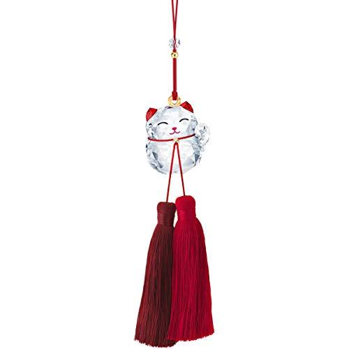 SWAROVSKI Lucky Cat Ornament, Clear