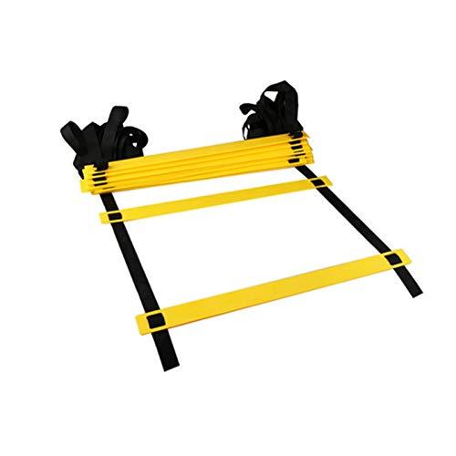 CPY La Escalera de Entrenamiento,Escalera de Coordinación,la Escalera de Agilidad se Utiliza para el Entrenamiento de Velocidad y Agilidad del fútbol