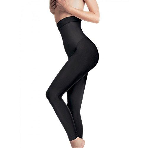 Lytess Damen Fuseau Ventre Plat Gainant Femme Legging, Schwarz, Medium (Herstellergröße : S/M)