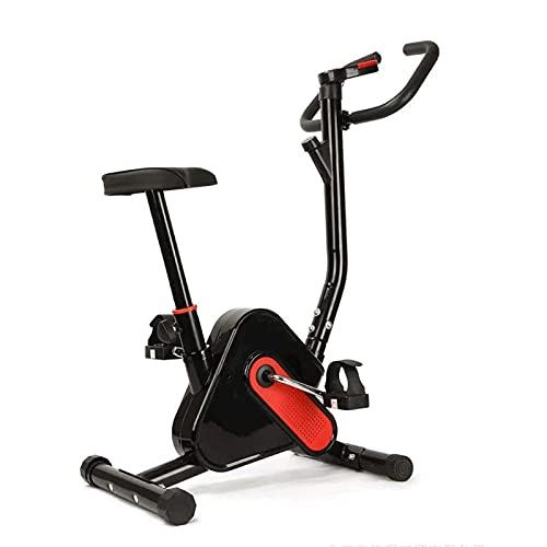 SAFGH Bicicleta de Entrenamiento Interior Bicicleta de Ejercicio Ligera Bicicleta de Ciclismo estacionaria Magnética Silenciosa Transmisión por Correa con Sistema de Resistencia para el Gimnasio e