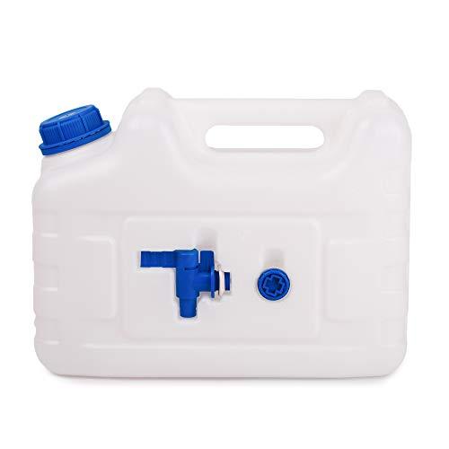 BFG Frasco de agua con grifo, adecuado para agua potable | Frasco de agua con grifo Seguro para alimentos, neutro en sabor y olor | 10