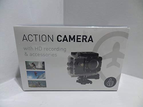 ThumbsUp 1,3MP HD Video Aufnahme Wasserdichte Sport Action Kamera mit 1.77TFT LCD-Bildschirm Crisp 5MP/3MP/1MP Bild Optionen inkl. 8GB MicroSD Karte mAh Lithium-Akku
