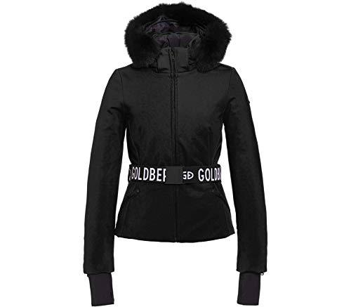 GOLDBERGH W Hida Jacket Faux Fur Schwarz, Damen Daunen Freizeitjacke, Größe 42 - Farbe Black