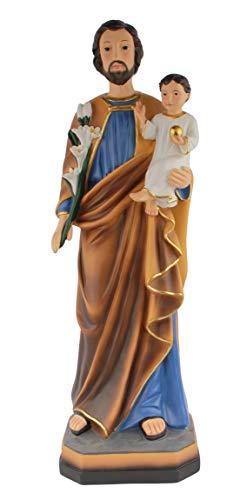 Saint Joseph and Child Figurine