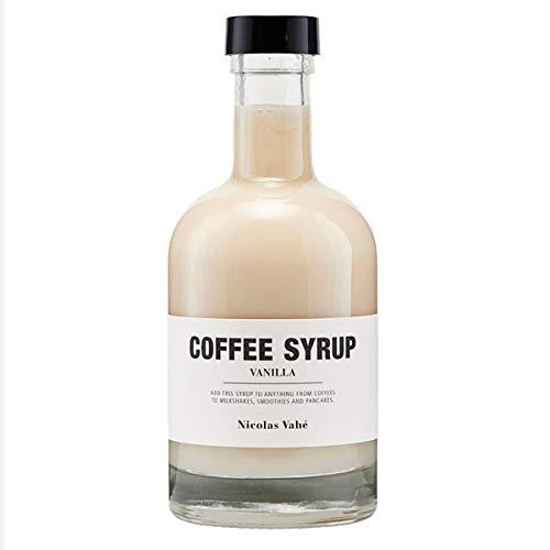 Nicolas Vahé - Kaffeesirup - Sirup - Vanille - 250 ml