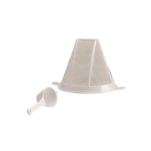 IBILI 760900 Filtre à Café/Cuillère, Plastique, Blanc, 22,5 x 16 x 11 cm