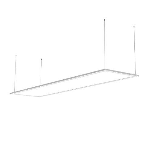 Xanlite Rectangulaire-Panneau Plafond avec 3 Modes De Fixation-Luminaire 42W LED Plat 3300 Lumens-Plafonnier Design 1185 x 285 mm-PA3000RNW, 42 W