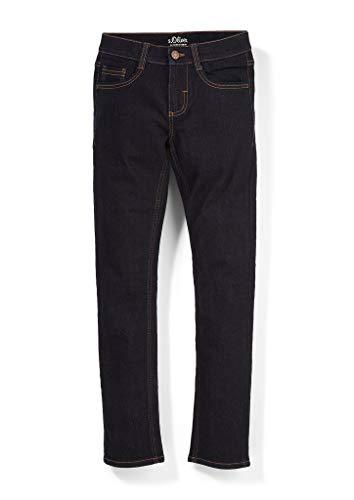 s.Oliver Jungen Skinny: Jeans mit Waschung dark blue 176.REG