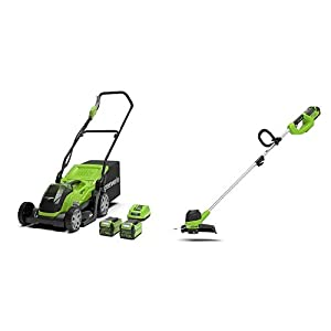 Greenworks G40LM35 Battery Powered Lawnmower