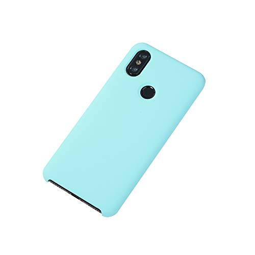 Teryei - Funda de silicona líquida para Xiaomi Mi Mix 2S, color múltiple, ultra fina, para Xiaomi Mi Mix 2S 5 Large