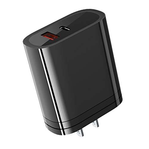 BOINN Cargador RáPido 3.0 Multi USB para 11 / Pro/MAX, QC3.0 PD Cargador RáPido para TeléFono (Enchufe de la UE)