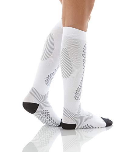 Compression Socks Mojo Sports Performance & Recovery Socks White Large by Mojo Compression socks