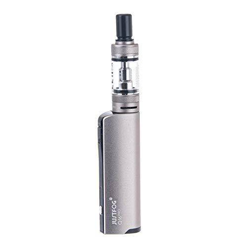 JUSTFOG Q16 Pro Starter Kit 900mAh 1.9ml E Cigarettes Vaping Kit (Silver) No Nicotine