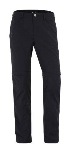 VAUDE Damen Hose Yaki Zip Off Pants, Black, 40, 03896