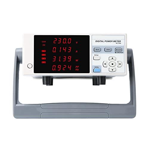 HEQIE-YONGP Osciloscopio Digital U T E9901 Medidor de energía Digital Medidor de Electricidad Tipo de Alarma Tipo de parámetro eléctrico Tester de Potencia