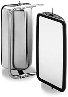 Velvac 708369 Left Side Heated Motorized Lighted Mirror