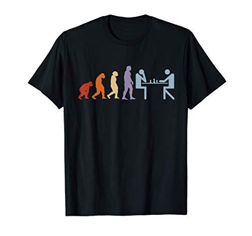 Jeu d'échecs Pièces d'échecs Echiquier Évolution Échecs T-Shirt