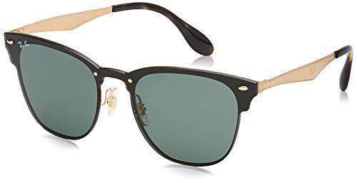 Ray-Ban Unisex-Erwachsene 3576n Brillengestelle, Gold (Gold Striped/Graygreen), 41