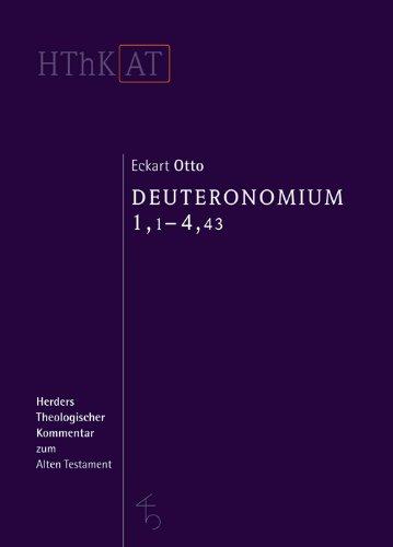 Herders theologischer Kommentar zum Alten Testament: Deuteronomium 1-11: Erster Teilband: 1,1-4,43