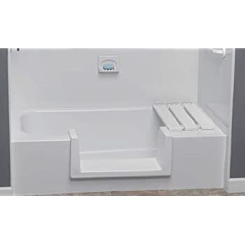 Step Through Tub to Shower Conversion Kit   Large     Amazon.com