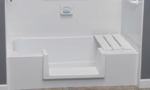 Step-Through Tub-to-Shower Conversion Kit - Small
