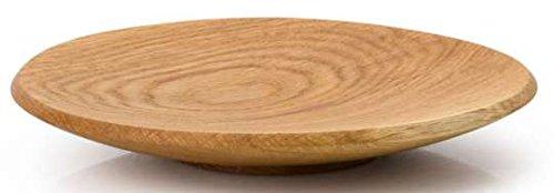 Continenta Oak Wood 4130Eiche Holz Schale, Licht Braun, hellbraun