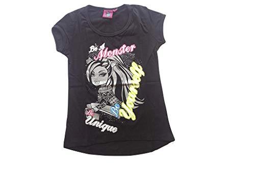 Monster High T-Shirt Clawdeen Wolf schwarz (152)