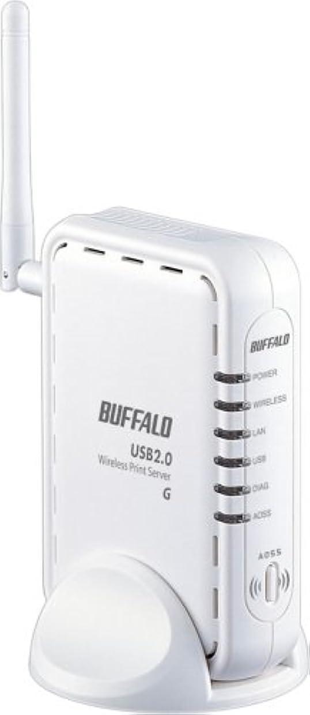 出力ラック混合BUFFALO LPV3-U2-G54 無線USBプリントサーバ