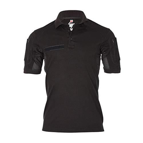 Copytec Tactical Poloshirt zwart DRITTE keuze Sale Prodcutionsfehler Brandweer #32322