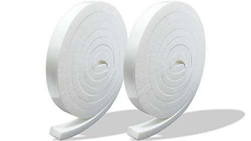 プランプ オリジナル 隙間テープ スキマッチ 白 ホワイト 厚 9 mm × 幅 15 mm × 長 2 m 2個入 日本製 ゴムスポンジ 防水 防音 隙間 風 断熱
