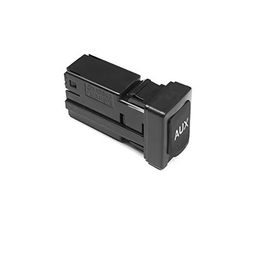 86190-02010 Aux Port Input Auxiliary Jack Adapter Compatible with Toyota 09-13 Corolla 07-14 Tundra 09-12 Tacoma 09-11 RAV4 10-11 Highlander 08-10 Avalon 08-14 Sequoia