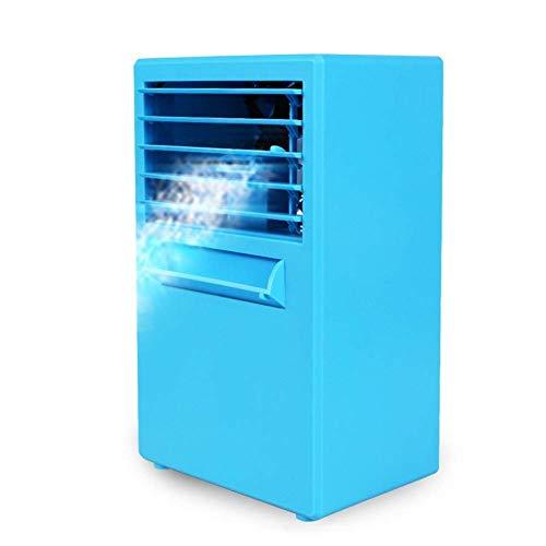 HaoLi Luftkühler Desktop-Klimaanlage Lüfter Mini-Kühler Home Office Elektrischer Lüfter Sprühbefeuchtung
