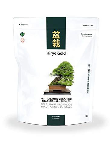 Abono para bonsai orgánico HIRYO-GOLD - Coníferas 1 kg