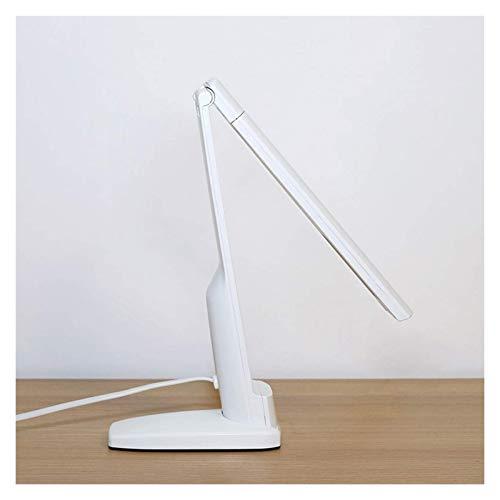 WANBAO Elegante Lámpara de Escritorio del complemento Lámpara de Escritorio de Control táctil Luz de Noche, 27 mechas, luz Plegable de la Mesa para el Dormitorio Universitario, Oficina, hogar