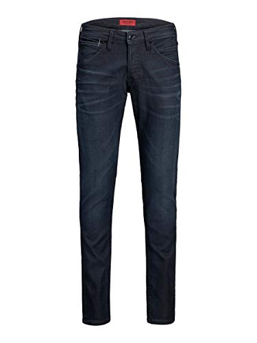 JACK & JONES Herren Slim Fit Jeans Glenn ORIGINAL JOS 123 Indigo Knit 2934Blue Denim