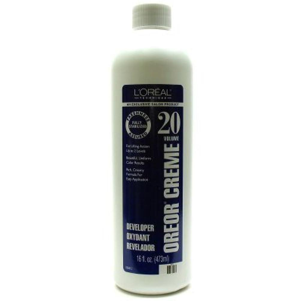 収入ストライド分類するオレオアクリームデベロッパー(ヘアカラー剤) レベル20 473ml (並行輸入品)