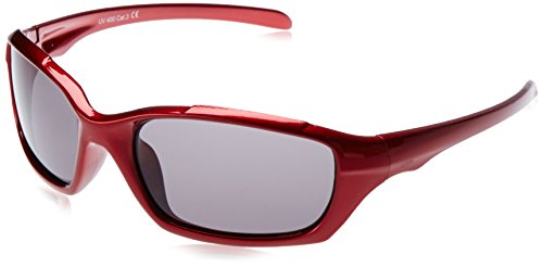 Dice Kinder Sonnenbrille, shiny alum red, D03210-1