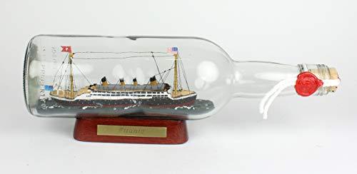 Titanic Untergang - Botella redonda de 700 ml, calidad de mu