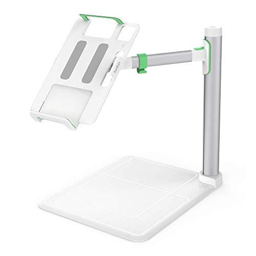 Belkin Tablet Stage Standfuß (portabler Projektor-Standfuß für Tablets von 7 bis 11 Zoll, kompatibel mit iPad, iPad Mini und iPad Air, entwickelt für den Unterricht)