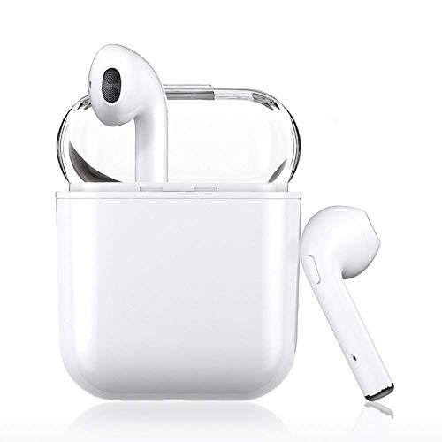 Bluetooth-Kopfhörer 5.0,Kabellose Kopfhörer IPX wasserdichte,Noise-Cancelling-Kopfhörer,Geräuschisolierung,mit 24H Ladekästchen und Mikrofon für Android/iPhone/Samsung/Apple AirPods Pro