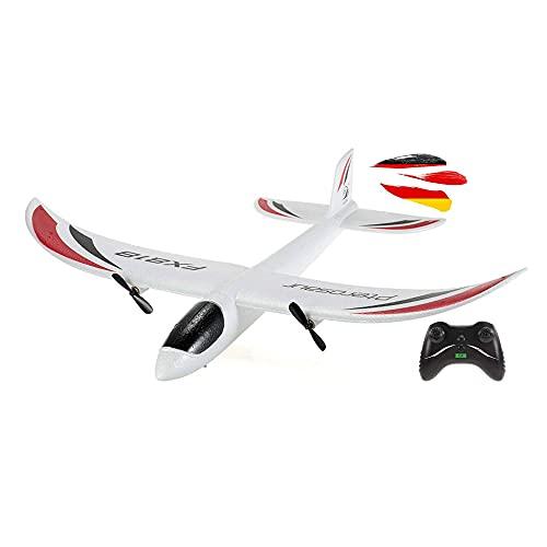 HSP Himoto 2.4GHz RC ferngesteuertes Mini Flugzeug Flieger, geeignet für Anfänger und Profis, Komplett-Set inkl. Fernsteuerung und Zubehör