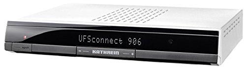 Kathrein UFSconnect 906 HDTV Satellitenreceiver (CI+, PVR-Ready, USB, Netzwerk/UPnP, Wake on LAN, Red Bull Smart-TV) silber
