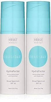 Obagi Medical 360 HydraFactor Broad Spectrum SPF 30 Sunscreen 2.5 oz Pack of 2
