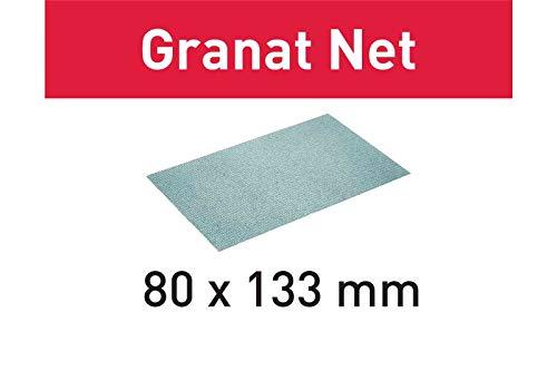 FESTOOL 203287STF 80x 133P150GR Schleifmittel Net, Stahl Grau, Set of 50Pieces
