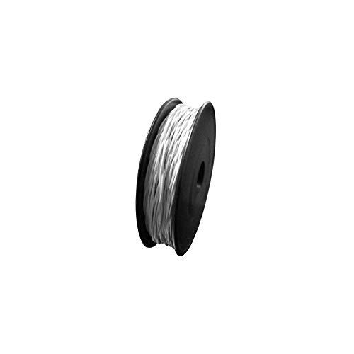 WITTKOWARE LiY, Litze verseilt, 2x0,09mm², weiß/weiß, 20m Spule